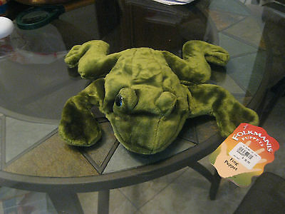 NWT Folkmanis Frog Hand Puppet Animal Plush (from the National Zoo Store)