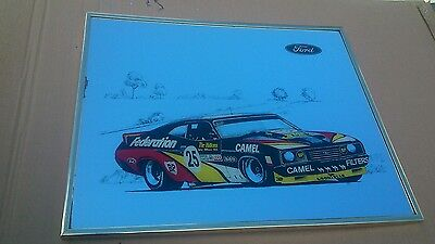 Allan Moffat Xc Federation Coupe Bar Mirror Rare