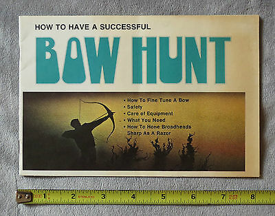 Chuck Saunders - How to Have a Successful Bow Hunt Booklet - Archery | Arrow