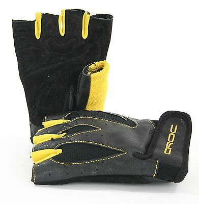 New Leather Gym Weight Glove Fitness Weight Lifting Exercise, Weight Gloves
