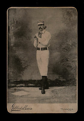 """GILBERT BACON 1880/90s?? EXCITING ( BASEBALL ) TYPE CARD """" PLEASE READ LISTING """""""