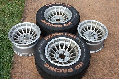 HQ Holden Alloy Wheels and Race Tyres