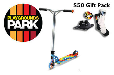 MGP VX6 EXTREME Tie Dye scooter + $50 Gift Pack, 2016 Madd Gear