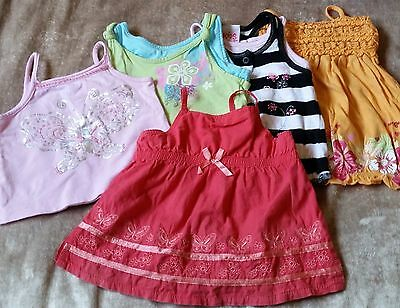 Cute Baby Girls Singlet Tops - Summer - Mixed Lot. Size 0. Stix & Stones- Target