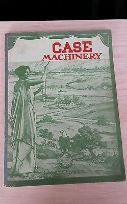 case tractor book