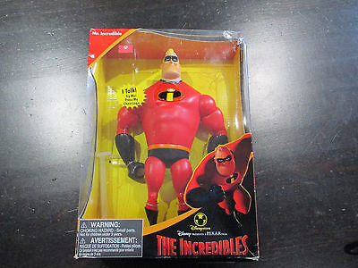 NEW Disney Pixar The Incredibles Movie Talking Mr Incredible Action Figure Toy