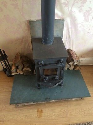 Evergreen Cast Iron Stove Log Burner