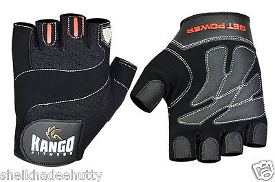 New* Padded Cycling  Gloves Bicycle Bike Cycle Gym Fitness Weight Lifting Black