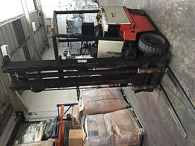 Nissan Electric 2.5 Ton Counter Balance Forklift