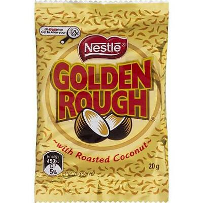 Golden Rough Roasted Coconut Delicious Milk Chocolate - Brand New