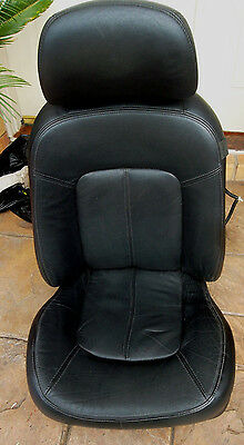 Ford BA BF Falcon, Fairmont, XR,FPV perforated leather passenger seat . VGC