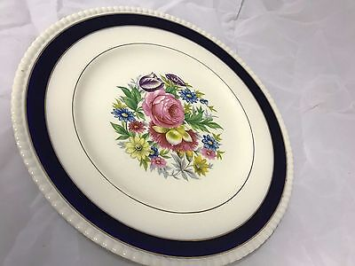 "Simpson's Pottery ""Solian Ware"" ARGYLE Dinner Plate"