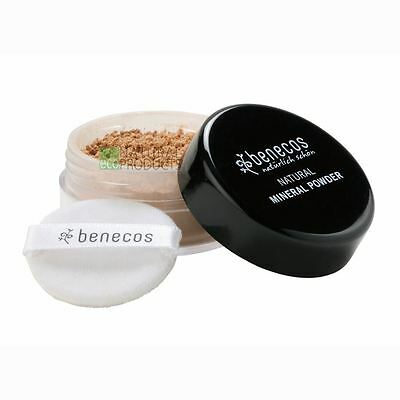 Benecos Natural Loose Mineral Powder Medium Beige 10g