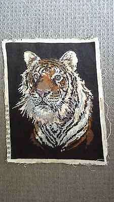 "Vintage ""tiger"" Anchor Completed Tapestry"