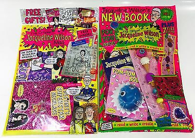 The Official JACQUELINE WILSON MAGAZINE X2 Gift Issues - AMAZING FREE GIFTS!