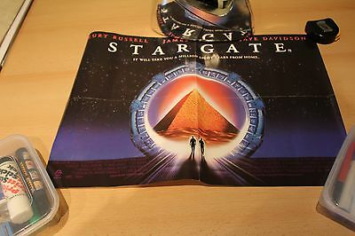STARGATE with KURT RUSSELL MOVIE POSTER