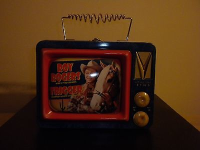 Roy Rogers Tin Lunch Box In Very Good+ Condition