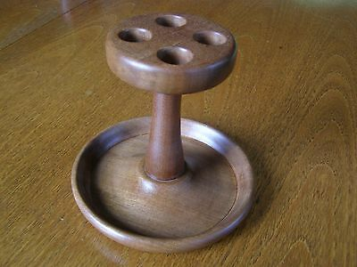 Smoking Pipe Rack for 4 Pipes. Lovely.
