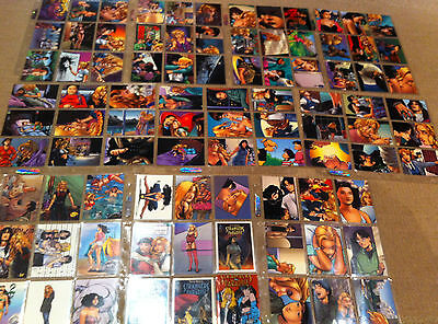 Strangers In Paradise (Full Set) 90 Trading Cards Mint Cond. 1996