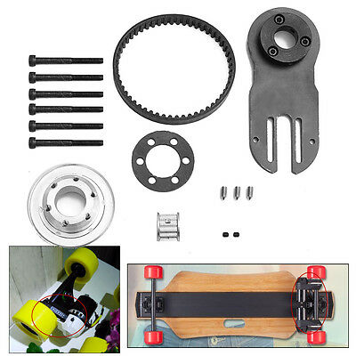 DIY Electric Skateboard Parts Pulleys And Motor Mount Kit For 83/90/97MM Wheels