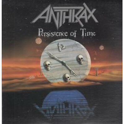 ANTHRAX (METAL GROUP) Persistence Of Time LP VINYL 11 Track (4228464801) US Is