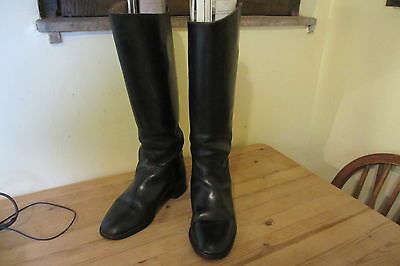 Classic English Leather Ladies Riding Boots