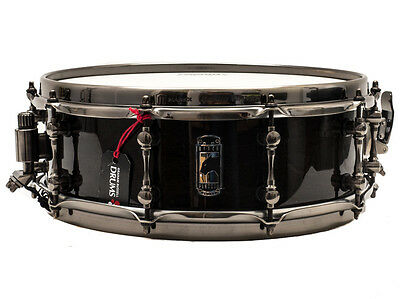 """Mapex 14"""" x 5"""" Black Panther Black Widow Snare Drum"""