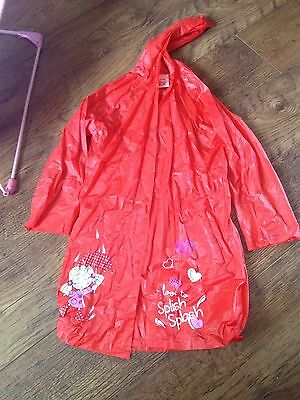 Red Water Proof Coat Age 6 Years