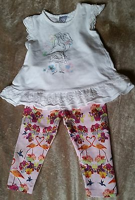 Cute Baby Girls TED BAKER Leggings -TARGET summer top. mixed lot. Size 0