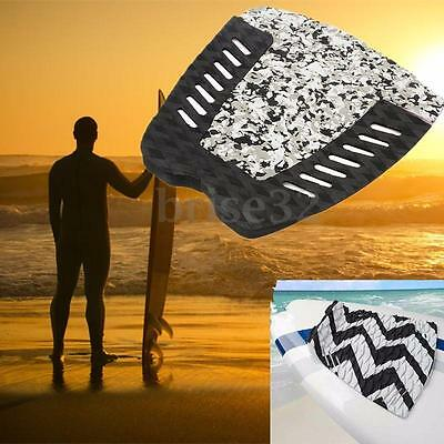 3pcs Camouflage Tail Pad Surfboard Deck Grips Traction Stomp Surf Mat Adhesive