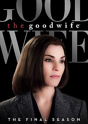 The Good Wife : Season 7 FINAL COMPLETE DVD REGION 2 NEW AND SEALED