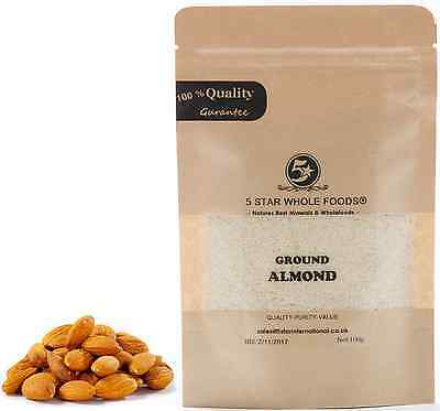 Ground Almonds High Quality .High Protein Low Carb Free Delivery 200g/500g/1000g