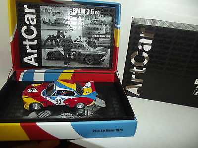Bmw 3.5 Csl-24H Le Mans 1975-Fly Art Car-Ref 96048-Limited Edition-Slot-1/32-Z24