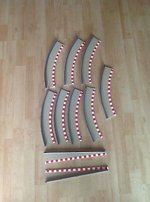 Scalextric Sport/Digital Track Borders and Barriers Excellent Condition x10