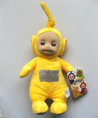 Teletubbies Talking Laa Laa Soft Toy By Character - Brand New With Tags!