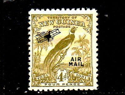 Stamp From New Guinea,air Mail 1931.