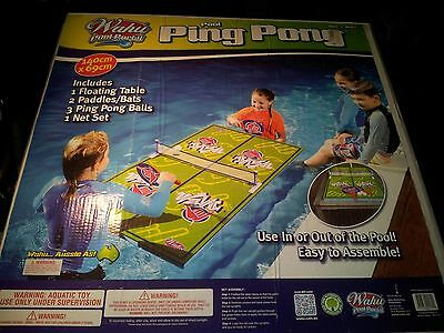 Wahu Pool Party Ping Pong - Brand New in Box