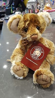 Dickory Collectable Charlie Bears Fully Jointed 22cm cm Plush Mouse
