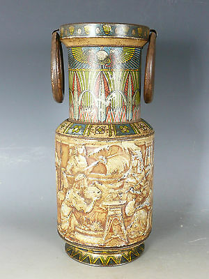 Antique Huntley And Palmers Biscuit Tin Egyptian L19Thc