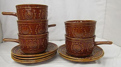 Tams soup cups and saucers