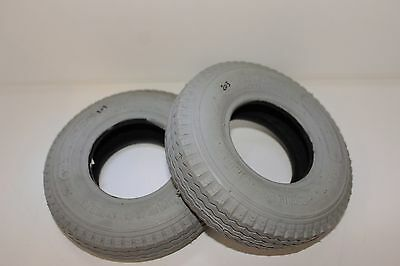 Shop Soiled - Mobility Scooter Tyres x 2 SPARE PARTS
