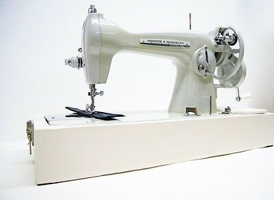 Fully Serviced Frister Rossmann Heavy Duty HAND CRANK Sewing Machine