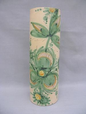 An F Rufinelli of Assisi Handpainted Large Vase