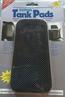OXFORD carbon Fibre Effect motorcycle tank pads