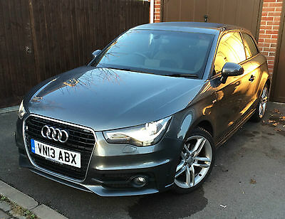 2013 Audi A1, 1.6 TDi S Line in Daytona Grey, 35,000 miles - Excellent condition