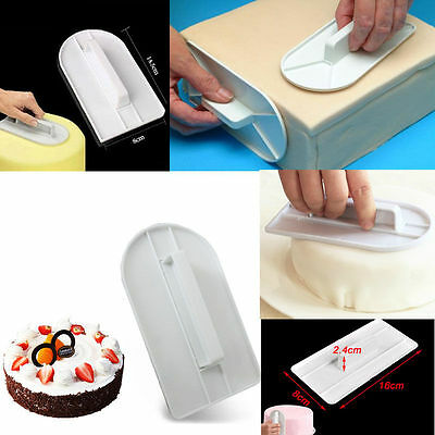 Glide Fondant Smoother Cake Decorating Round Cake Cutter Decorating DIY