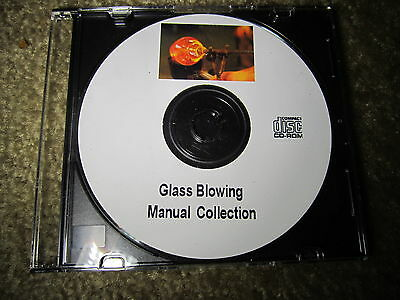 Glass & Glass Blowing Information Book Collection on CD