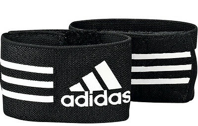 Adidas Football Ankle Straps Soccer Holder Shin Guards 620635 Training
