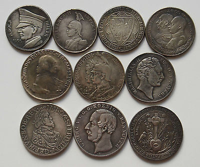 1. Germany 1642-1935 10 Coins ! ! !