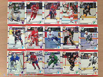 Score NHL 1990 Ice Hockey Trading Cards - Select Your Cards